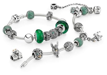 pandora charms verde